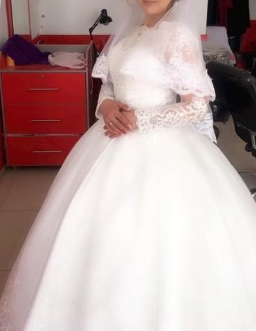 Свадебные платья - Тюп: Отдам на прокат свое свадебное платья. Платья пышное, размер регулируе
