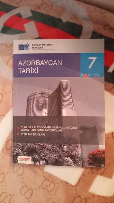Bakı şəhərində Az Tarixi 7ci sinif test kurikulumla