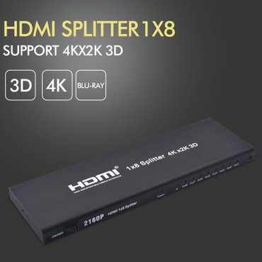 "HDMI razdelnik-splitter 1 na 8 ""Unstincer"" in Belgrade"