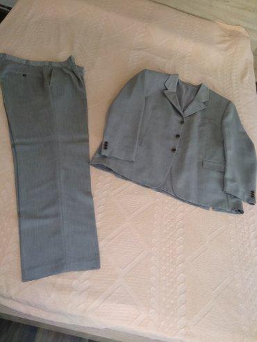Muško odelo( prvi maj) ,sive boje ,veličina 56,polovno,dobro - Mladenovac