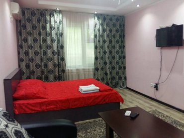 1ком кв.люкс.есть всё. посуточно.  в Бишкек