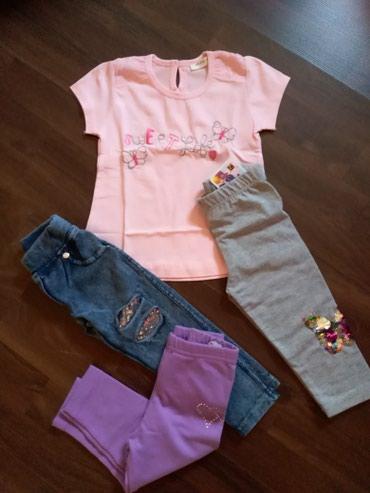 Paket nove garderobe za devojčicu. Veličina 80-86 - Ruma
