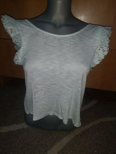 Majica xs - Srbija: Majica nova ne koriscena, velicina xs s, svetla mint zelena