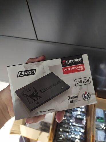 диски в Кыргызстан: SSD диск kingston на 240 гб. (3200 сом)