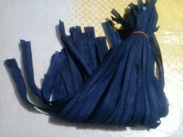 Замки капроновые , длинна 50см,синий цвет,за 40 шт. -200сом в Бишкек
