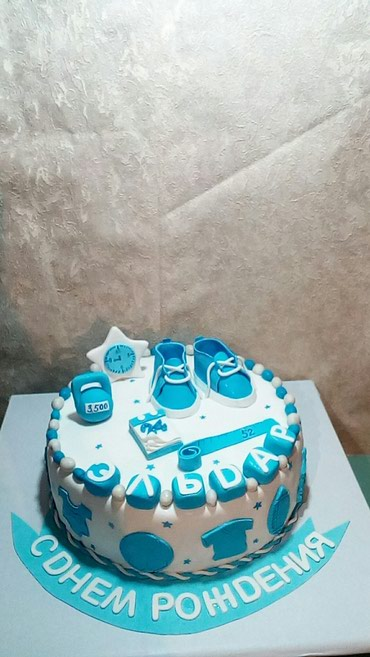Торты на заказ на дни рождения,на в Бишкек