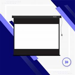 проектор-на в Кыргызстан: Экраны Deluxe. У нас широкий ассортимент экранов - настенные, на