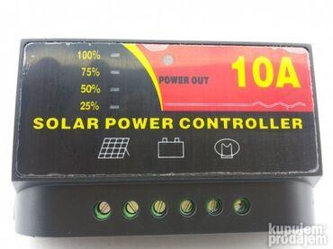 Na akumulator - Srbija: Kontroler punjenja sa automatskim prepoznavanjem napona12/24V