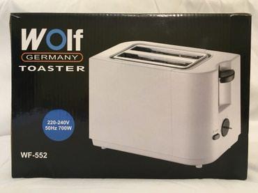 tosterler - Azərbaycan: WOLF Toaster 700W. Alman malı. Yenidir. Hec islenmeyib. Original firma