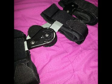 Ostalo - Kragujevac: Ortoza sa zglobom kolena i stepenom podesavanja nosena 2 nedelje