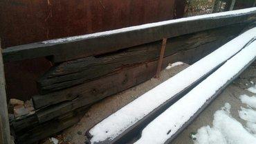 Деревянные балки для стройки длина 4-5 метров в Бишкек