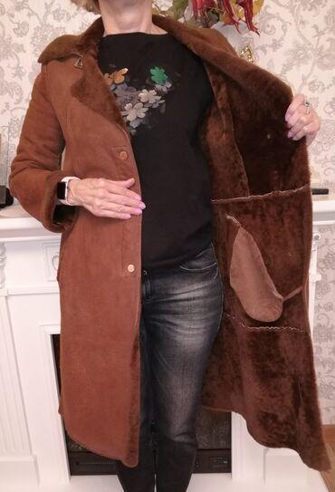 химчистка одежды в Кыргызстан: Дубленка женская, производство Турция размер46-48, после химчистки. В