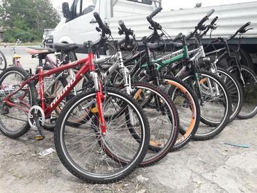 велосипед на трех колесах для взрослых в Кыргызстан: Велосипеды из Кореи шоссейные.горные.спортивные.детские.подростковые.с