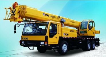 Услуги автокрана 25 тонн стрела 39 м в Бишкек