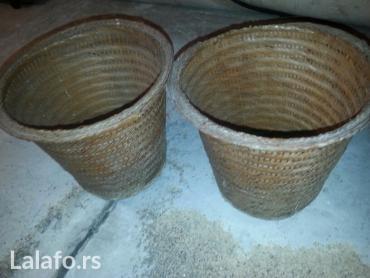 Ostalo za kuću | Beograd: Pletene ukrasne saksije made in Indonesia