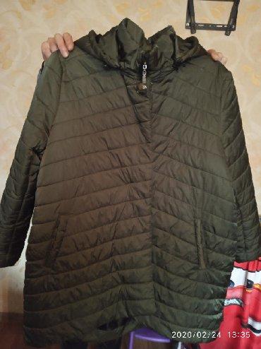 женская куртка осень весна в Кыргызстан: Продам куртку женскую весна - осень размер 52- 54