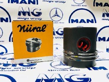 mercedes benz w124 e500 волчок купить в Кыргызстан: Поршня на все виды Mercedes-Benz / Man D6 D6 D6  D2876-D2878. Ом .  Ка