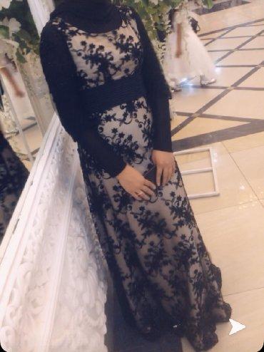Очень красивое платье, узоры сшиты из бисера, одевали один раз в Бишкек