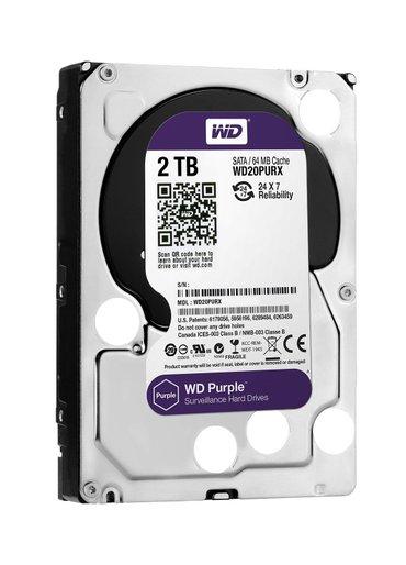 """Bakı şəhərində Sərt disk """"WD Purple"""" HDD 3.5"""", 2TB"""