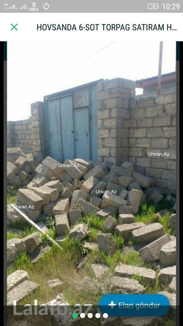Bakı şəhərində Hovsan-Turkan yolunda 6 SOT torpag-24,500azn ,senedli ,