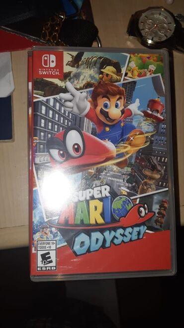 Nintendo Switch - Azərbaycan: Nintendo switch super Mario odyssey