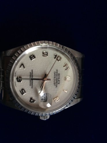 Rolex Perpetual Datejust 16220 Stainless Steal London seherinde alinib в Баку