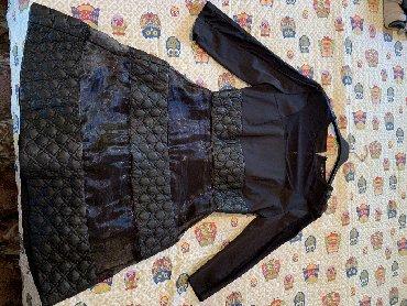 Haljine   Pozarevac: Crna haljina koja je nošena samo jednom. Veličina haljine je 38