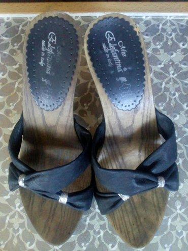Nove kožne papuče broj 40,San Elefanttina,Made in Italy,đon - Vrbas