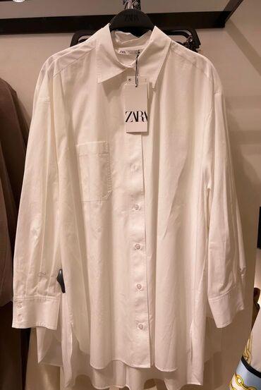 Личные вещи - Бишкек: Рубашка zara новаяне подошёл размер! Размер -xl