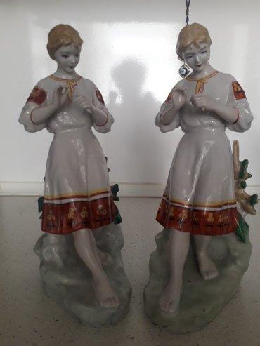 Bakı şəhərində Farfor statuetkalari.... Qedimidi... фарфоровые старинные статуетки в