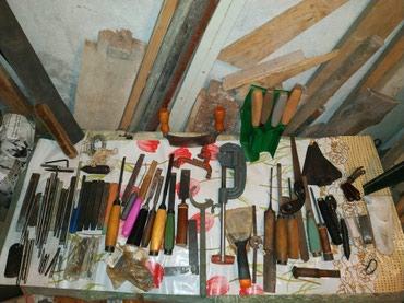 Разные инструменты! Стамески, шпатели, клинья, кернер и тд тп! в Бишкек