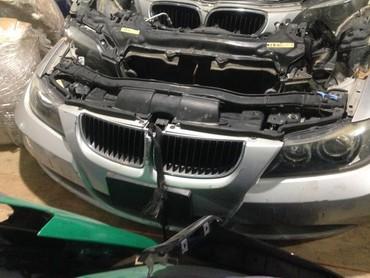 Авто запчасти на БМВ Е90 3-серии передняя часть