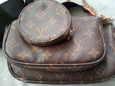 Продаю очень классную сумку от Луи витон 3 в 1 тренд этого сезона