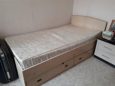 продаю кровать в хорошем состоянии. была сделана на заказ.  в Бишкек