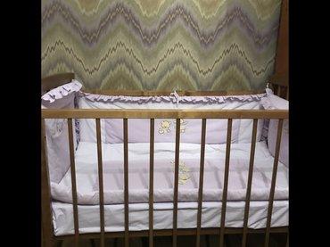 Детскую кроватку , чисто деревянную , в в Бишкек
