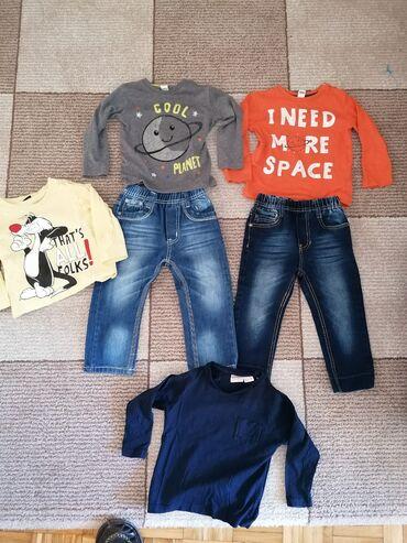 Dečija odeća i obuća - Sopot: Paket za decaka 2 godFarmerkice 2godFarmerkice 2 godKosuljica