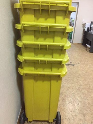 Контейнер для мусора 120 л, на колесах с в Бишкек