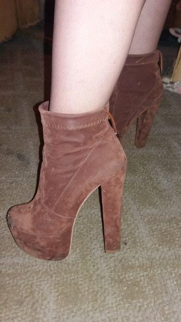 Cipele na stiklu miss sixty ,ocuvane,braon boje jednom obuvenene br - Sremski Karlovci