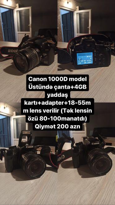 Fotoaparatlar - Bakı: Canon 1000D. 200 azn