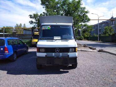 Купить грузовик до 3 5 тонн бу - Кыргызстан: Продаю Мерседес Т1(Сапог) 2х Скатный на раме Газ 53 в отличном