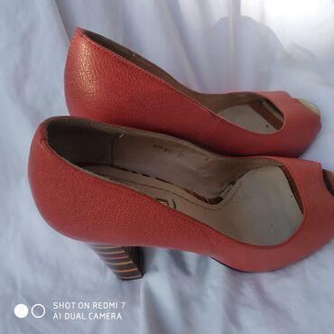 Туфли женские 37-38чисто кожа
