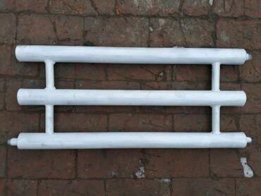 Обогреватель электрический самодельный состоит из трёх секцийтип