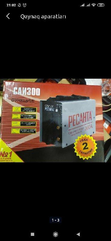 svarka aparati satilir в Азербайджан: Svarka aparati resanta argenal 2.3.4.5 elektrod isledir həm pastayanka
