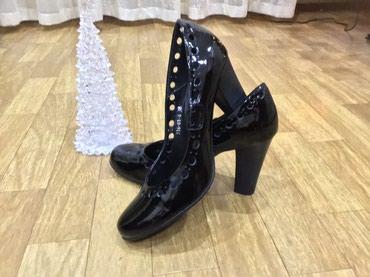 Туфли лаковые одеты один раз как новые покупали в евромоде дорого на