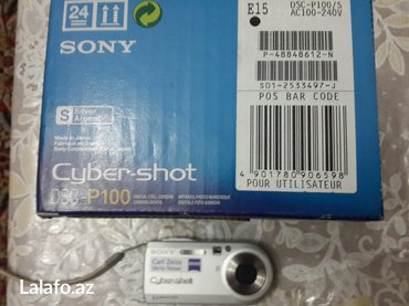 Bakı şəhərində Sony  foto və video kamera dsc-p100  sony cybershot sony memory stick - şəkil 2
