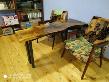 Столы из дерева, слэбы, ручная работа, домашний декор. в Массы