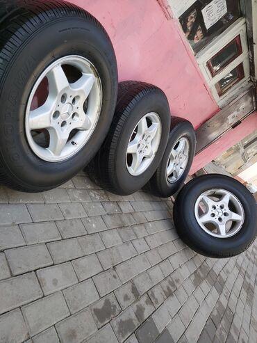 mersedes ml - Azərbaycan: Mercedes ML R16 4ed 350 Azn 1ed disk cat olub duzelib bayir terefden