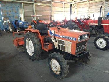 Японский трактор hinomoto e224 (22 л. с. ). в Бишкек