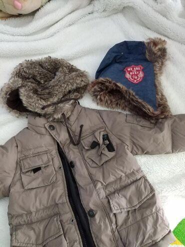 Benetton jakna i subara ili kapa u kompletu