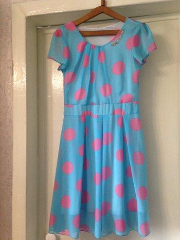 Продаю б/у платье на девочку одевала в Бишкек